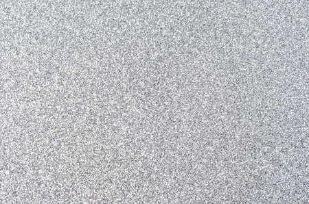 輝く銀の輝きテクスチャ背景、フレームに均等に分散します。 写真素材