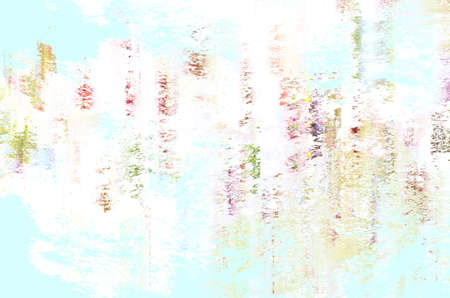 Abstract background.  Predominantly pale blue and white with touches of pink, green, purple and yellow. Zdjęcie Seryjne