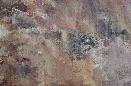 A stone effect abstract background texture with multiple blended and merging colours. Pink, purple, grey, gold and brown. Stok Fotoğraf