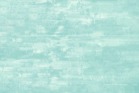 Abstract background in aqua blue and white with patchy, painterly appearance.