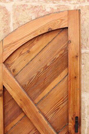 parte di un rustico in legno di scatto