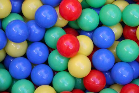 playcentre: colorful balls abstract background
