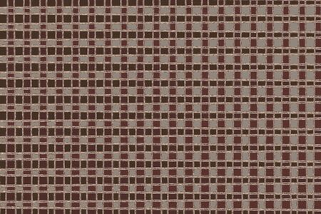 abstract brown square pattern Stock Photo - 6316061