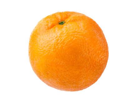 Orange on white background without shadow Stock Photo - 2586456