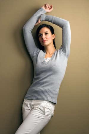 Beautiful young woman - fashion Stock Photo
