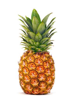 Pineapple isolated Фото со стока