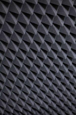 acoustical: Background image of recording studio sound dampening