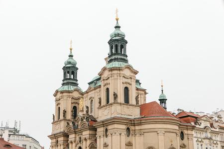 The Church of St. Nicholas in Prague in Czech Republic