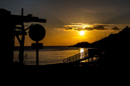 Ibiza Sunset at Beach Shack
