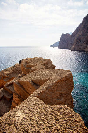 Atlantis Quarry Ibiza Archivio Fotografico - 80945468