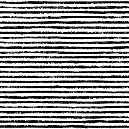 linearly: Seamless pattern with hand drawn brush stripes