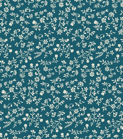 Vintage floral seamless pattern with tiny flowers