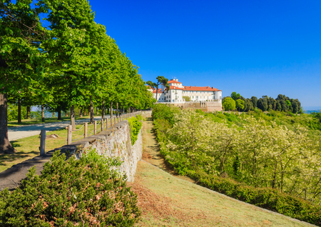 the castle was for ten centuries the main residence of Count Valperga of Masino Editorial