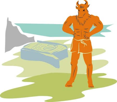 Minotaur Stock Vector - 18876586