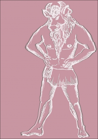 rampage: minotaur Illustration