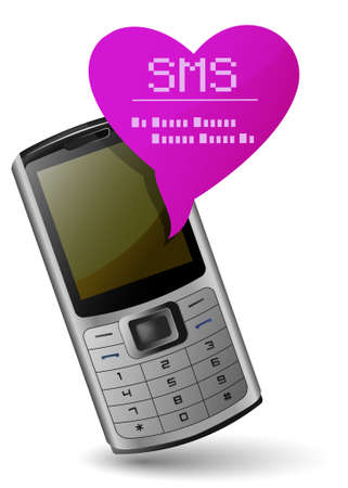 gsm phone: Valentine mobile phone. Send and Receive SMS Messages.