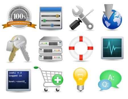 web host: Universal Icon Set - Web Hosting