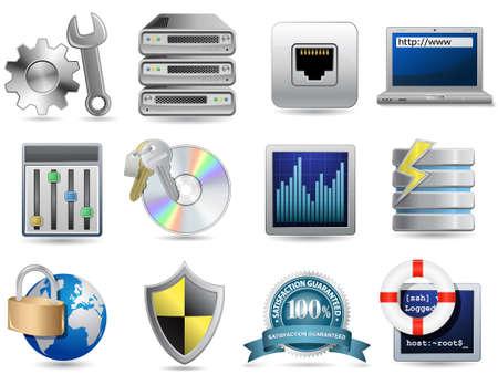 Universal Icon Set - Web Hosting