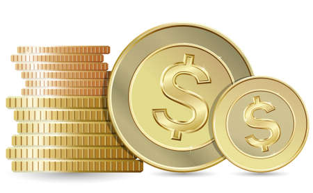 buying stock: Gold coins