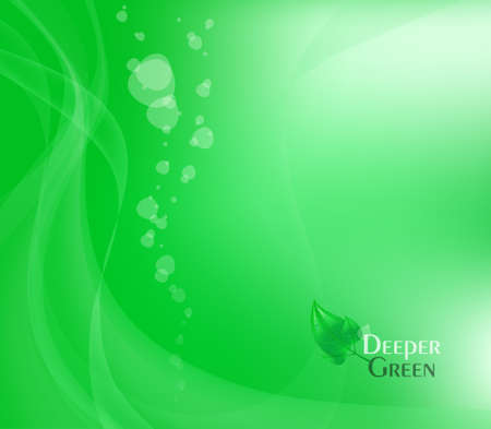 Abstract Green Background.  Illustration. Deeper Green. Stock Illustration - 6894154