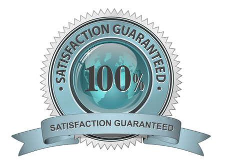 satisfaction guarantee: Satisfaction guarantee sign