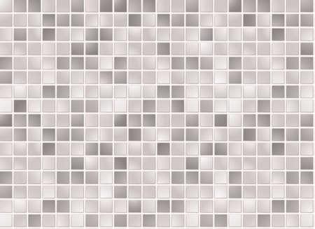 bad fliesen: Nahtlose grau quadratischen Fliesen Muster