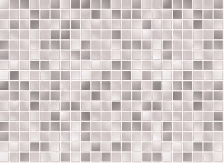Seamless grey square tiles pattern Vector