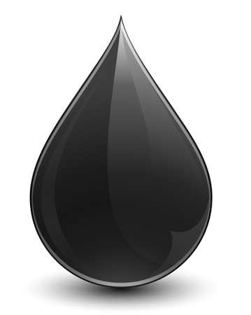 Crude oil Illustration