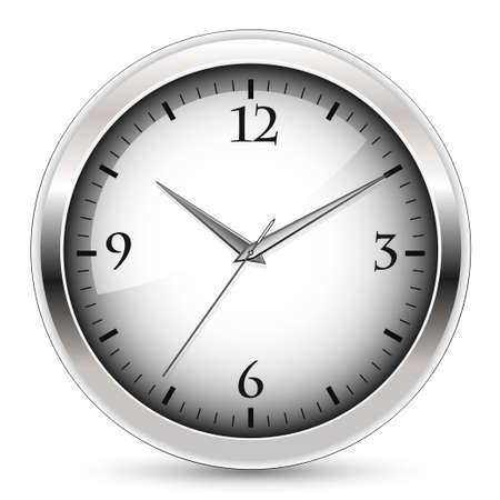 Office clock Stock Vector - 8142393