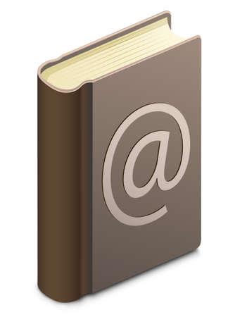 Adresboek Vector Illustratie