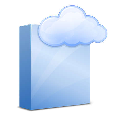 Cloud Software Service Stock Photo - 9429430