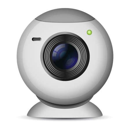 illustration of web camera Illustration