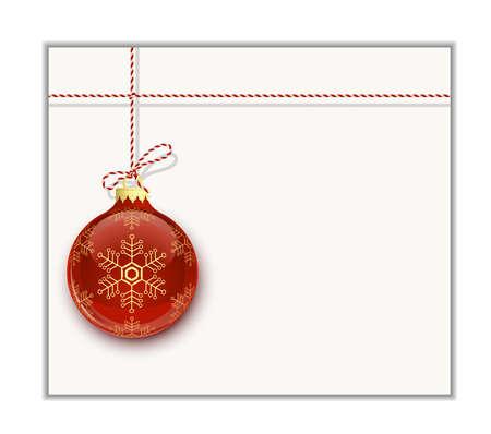 plantilla para tarjetas: Plantilla de tarjeta de Navidad. Ha de Navidad en blanco