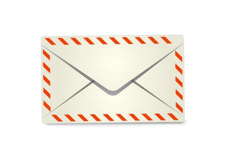 avia: Envelope. Vector illustration