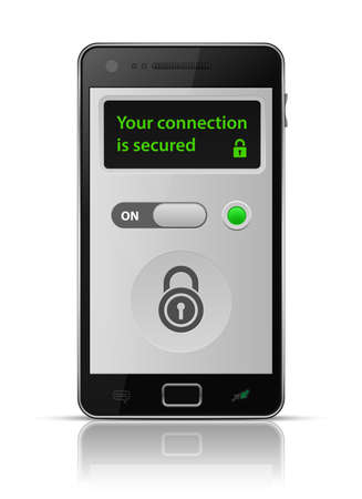 Is your connection secure Smartphone secure connection.