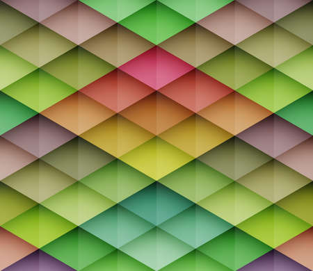 herringbone background: Abstract colorful mosaic seamless vector background  Graphic pattern with rhombus elements  Vector seamless illustration