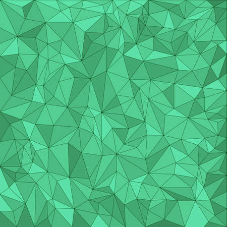 Abstract green vector mosaic pattern  Vector pattern with paper texture  Vector abstract background Vector