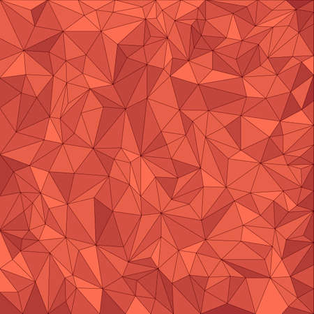vector pattern: Abstract red vector mosaic pattern  Vector pattern with paper texture  Vector abstract background