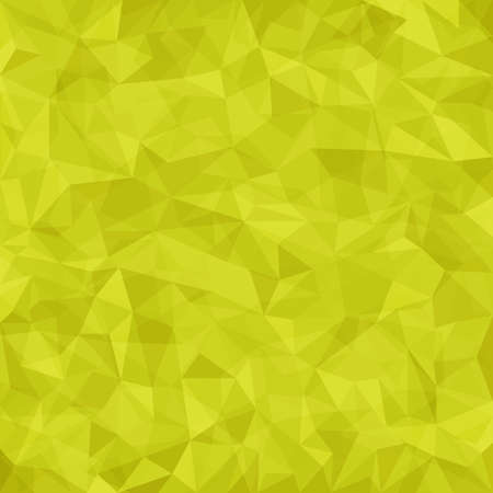 Yellow vector mosaic pattern  Vector abstract background Vector