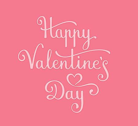 happy valentines: Happy Valentines Day Card. Vector illustration
