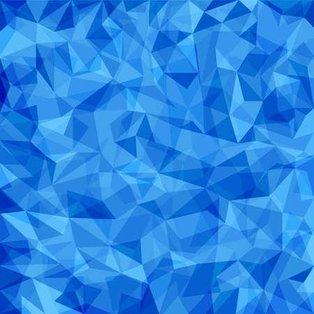 抽象的な青いベクトル モザイク パターン。紙の質感とベクトル パターン。抽象的な背景のベクトル