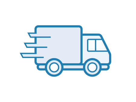 delivery icon: Delivery service icon. Vector illustration