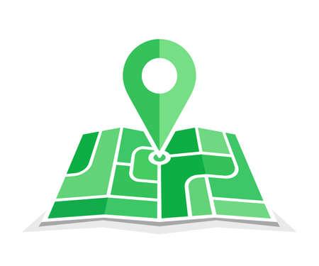 geo: Green geo pin symbol.