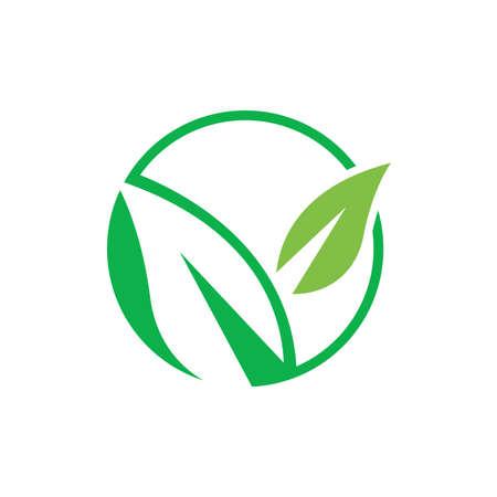 Eco green. eco friendly vector illustration an Environmentally icon