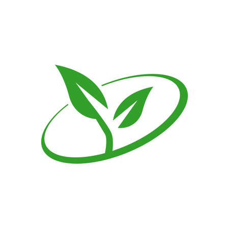Eco green vector. Eco friendly icon. Recycle vector. Packaging Renewable symbol. Green Environmentally sign Vectores