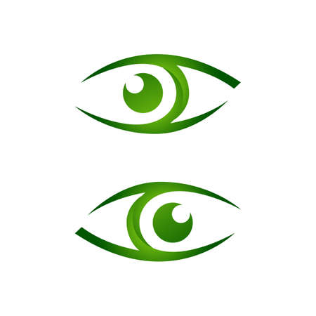 Vision Eyes design idea concept vector illustrations