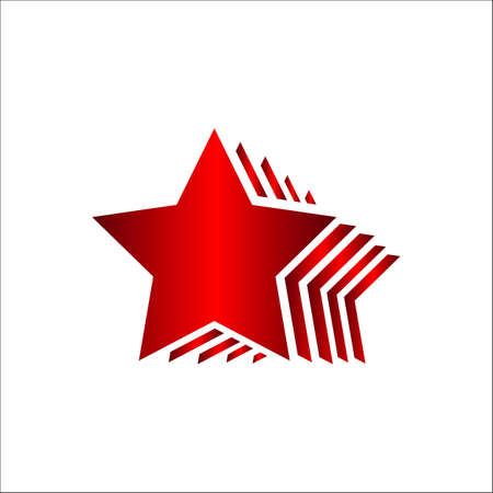 premium quality five stars 5 star vector design illustration Ilustração
