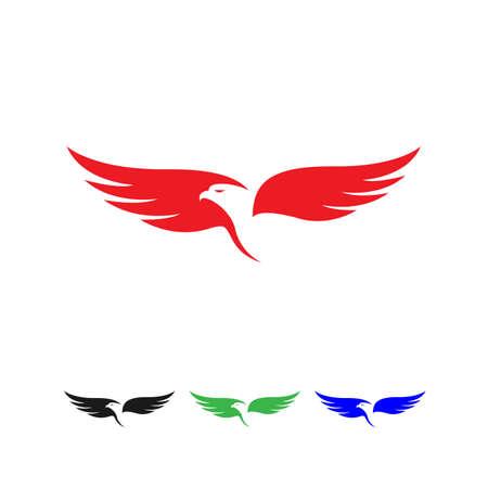 creative eagle head vector business concept Banco de Imagens - 132524132
