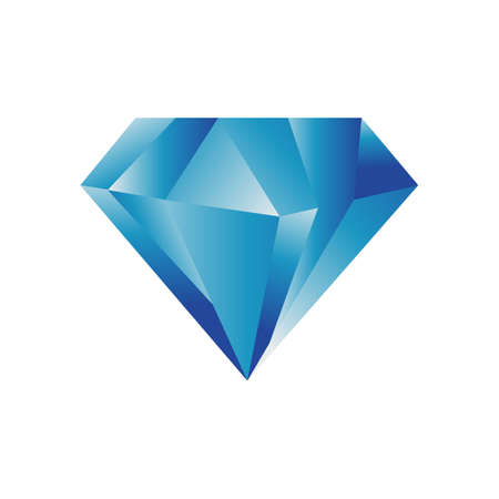 shinning jewelry diamond logo design vector illustrations Logó