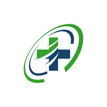 ambulance emergency logo Medical international symbols Vector illustration Logo